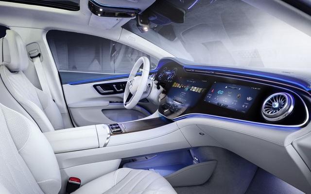 Xe chạy điện hạng sang Mercedes-Benz EQS trình làng với thiết kế ấn tượng - 2
