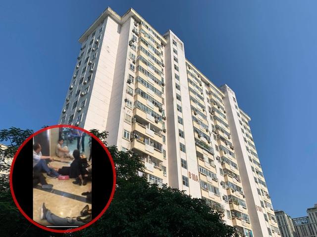 Vụ rơi thang máy chung cư: Quận nói 2 người bị thương, dân nói 6 người - 1