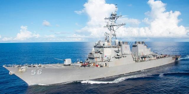Trung Quốc bị nghi diễn tập tấn công giả định chiến hạm Mỹ  - 1