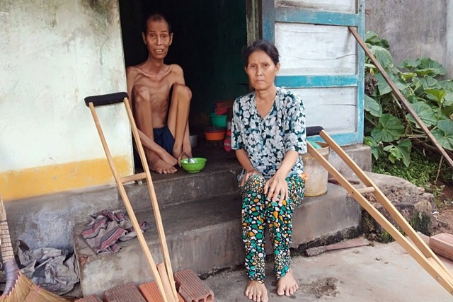 Thương người đàn ông gầy nhất vùng trong ngôi nhà 4 mảnh đời nghèo bền vững - 4