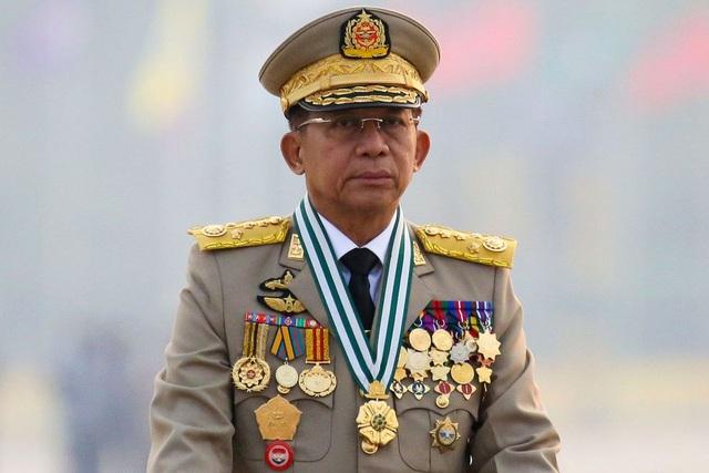 Thống tướng Myanmar lần đầu công du sau đảo chính - 1