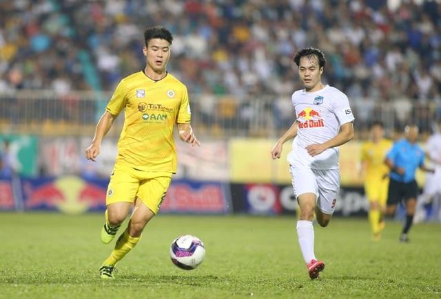 HA Gia Lai 1-0 Hà Nội: Siêu phẩm sút xa của Xuân Trường - 4