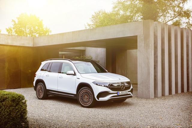 Mercedes-Benz trình làng tân binh EQB, quyết tranh giành thị phần với Tesla - 6