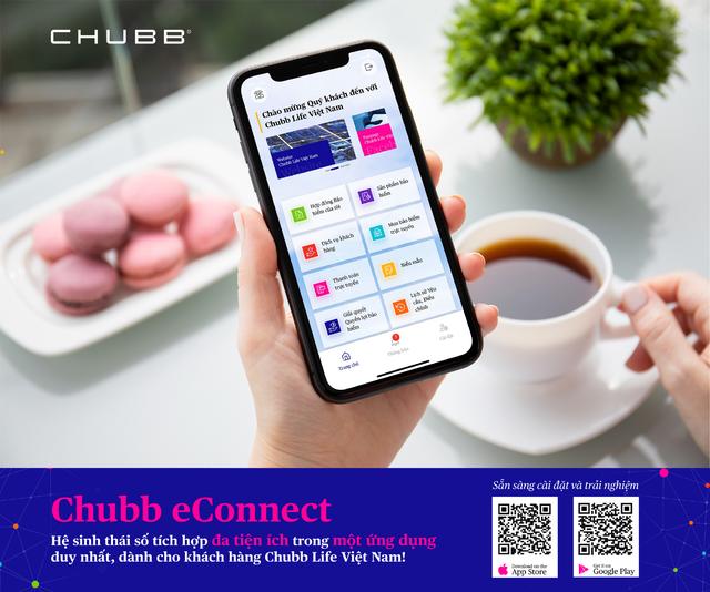 Chubb eConnect: Đưa bảo hiểm gần gũi hơn vào cuộc sống thường ngày - 3