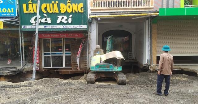 Hà Nội: Đang san lấp hố tử thần ở Chương Mỹ - 2
