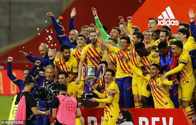 Messi thiết lập kỷ lục ghi bàn mọi thời đại ở Cúp Nhà vua - 2