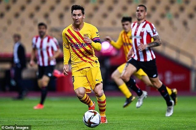 Messi thiết lập kỷ lục ghi bàn mọi thời đại ở Cúp Nhà vua - 1