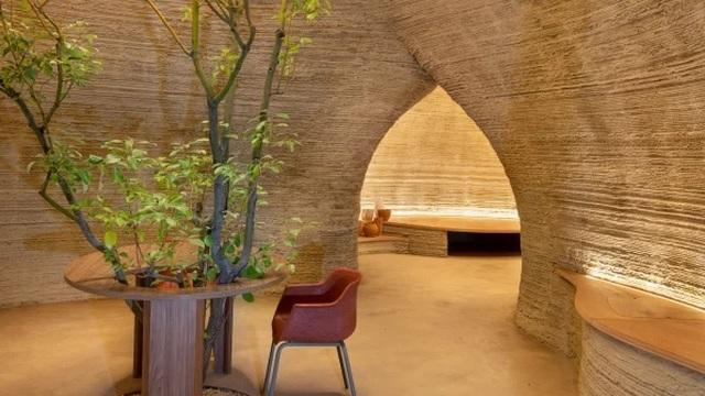 Ngôi nhà làm bằng đất từ công nghệ in 3D thân thiện với môi trường - 3