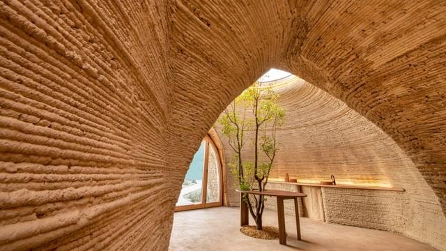 Ngôi nhà làm bằng đất từ công nghệ in 3D thân thiện với môi trường - 2