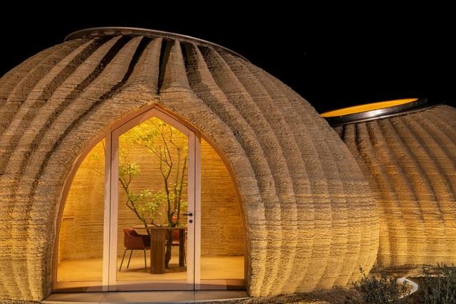 Ngôi nhà làm bằng đất từ công nghệ in 3D thân thiện với môi trường - 1