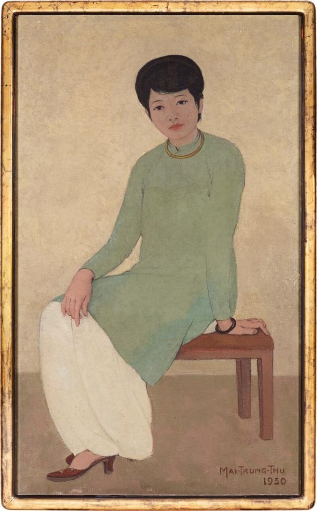 Chân dung Madam Phương có giá 72 tỷ đồng: Kỷ lục mới của hội họa Việt Nam - 1
