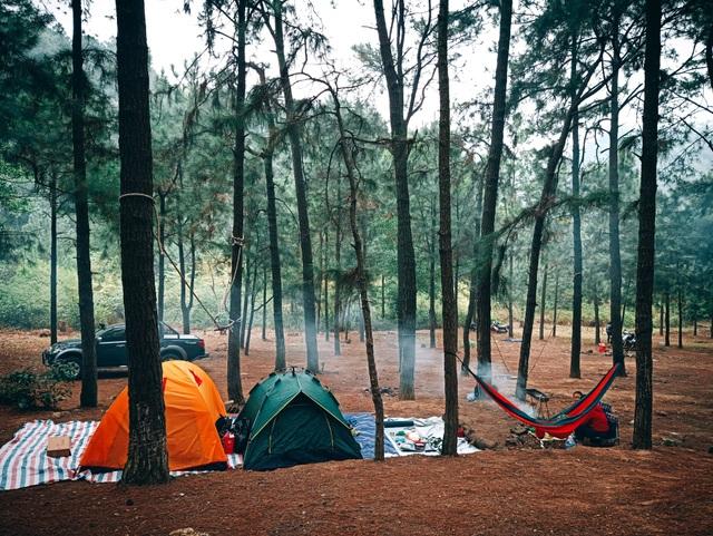 5 địa điểm cắm trại tuyệt đẹp gần Hà Nội cho ngày nghỉ lễ  - 7