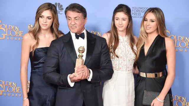 Ba cô con gái xinh như thiên thần của Rambo Sylvester Stallone - 4
