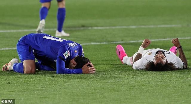 Hòa thất vọng, Real Madrid hụt hơi trong cuộc đua vô địch với Atletico - 1