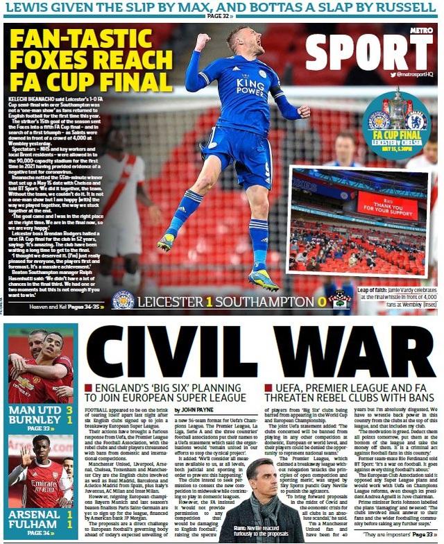 Truyền thông châu Âu nổi giận với European Super League - 4