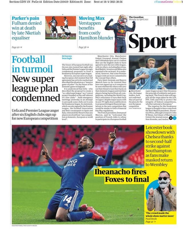 Truyền thông châu Âu nổi giận với European Super League - 1
