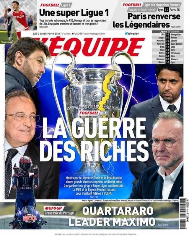 Truyền thông châu Âu nổi giận với European Super League - 8
