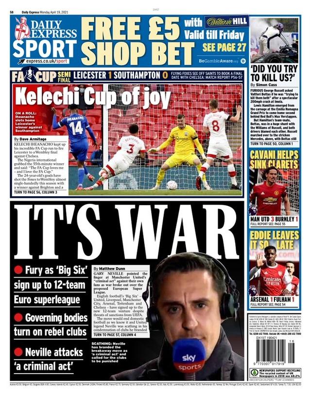 Truyền thông châu Âu nổi giận với European Super League - 2