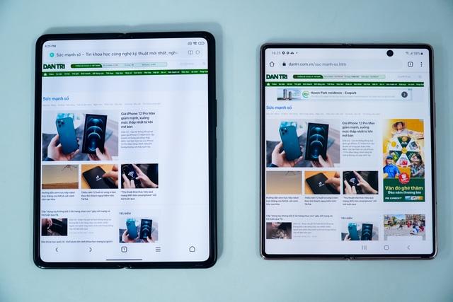 So sánh hàng khủng Xiaomi Mi Mix Fold với Samsung Galaxy Z Fold2 - 5