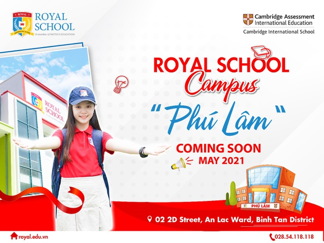 Royal School sẽ ra mắt cơ sở mới vào tháng 5/2021 - 1