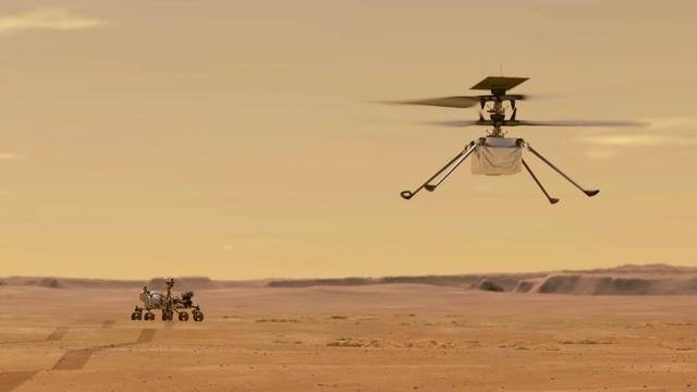 Hướng dẫn xem trực tiếp robot trực thăng của NASA cất cánh trên sao Hỏa - 1