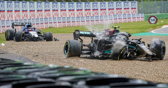 Chặng 2 đầy sự cố, Hamilton bị dằn mặt ngay từ khúc cua đầu tiên - 4