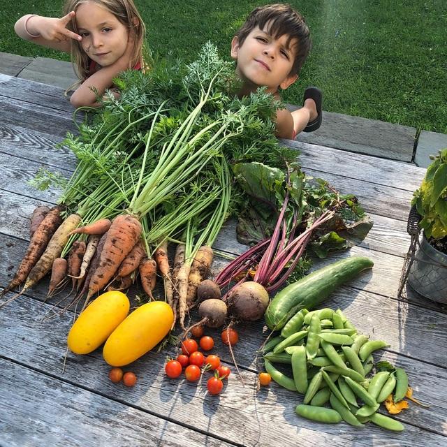 Bỏ thành phố, ông bố đưa gia đình về quê trồng rau, dạy con yêu thiên nhiên - 10