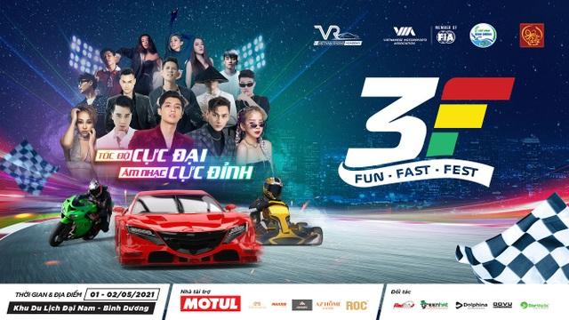 Fun Fast Fest - Đại lễ hội đua xe - giải trí lần đầu có mặt tại Việt Nam - 1