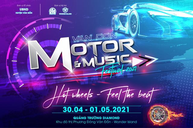 Sắp diễn ra Lễ Hội Xe  Âm nhạc trong chuỗi sự kiện Vân Đồn Chào Hè 2021 - 2
