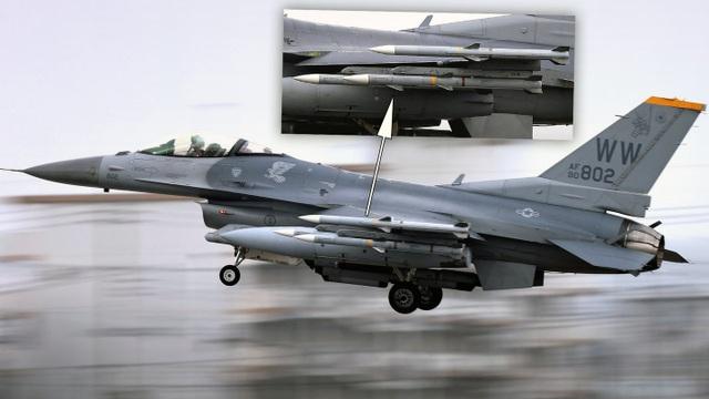 Chim ưng F-16 của Mỹ mang tên lửa không đối không tới Biển Đông - 1