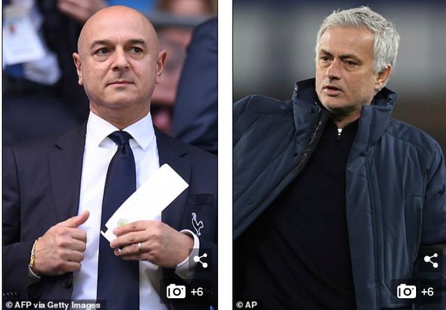 Chủ tịch Tottenham chính thức tiết lộ lý do sa thải HLV Mourrinho - 1