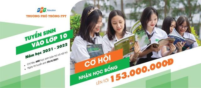 Trường THPT FPT Đà Nẵng dự cấp hơn 9 tỷ đồng học bổng - 1