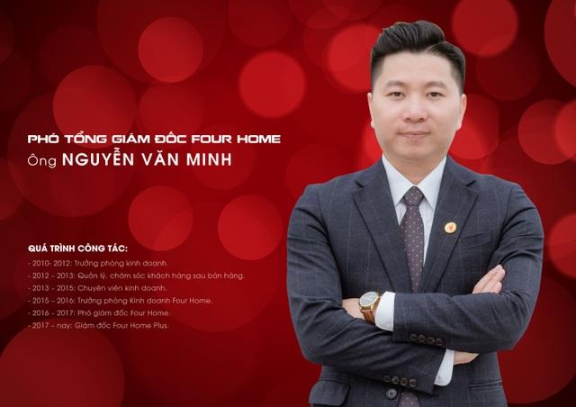 Sàn Giao dịch Bất động sản Four Home có Phó Tổng giám đốc mới - 3