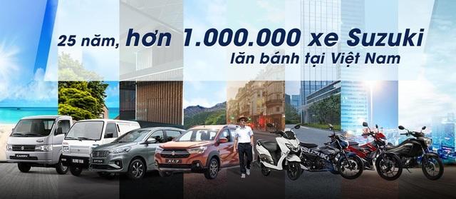 Suzuki thành công đưa ước mơ sở hữu xe đến khách hàng với hơn 1 triệu xe lăn bánh - 1