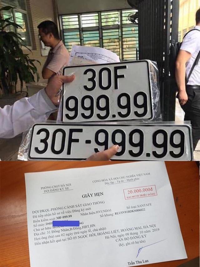 Trúng biển ngũ quý 9, xe Santa Fe đội giá gần 4 tỷ đồng tại Hà Nội - 4