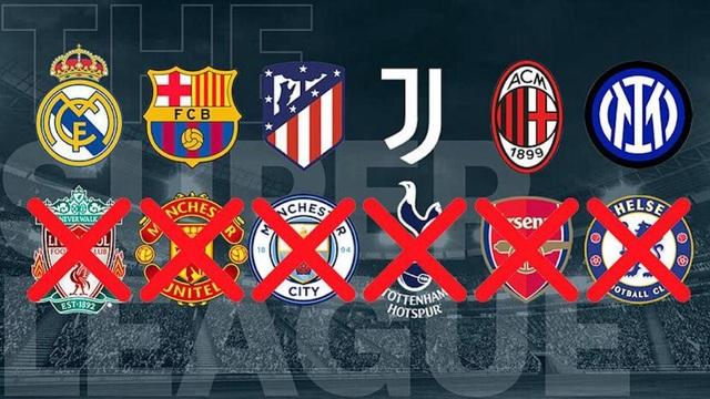 Vì sao siêu giải đấu European Super League sụp đổ nhanh chóng? - 3