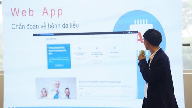 SV FPT Edu ứng dụng AI chẩn đoán bệnh ngoài da - 1