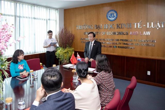 ICAEW thúc đẩy hợp tác bền vững với trường ĐH Kinh tế -Luật - 2