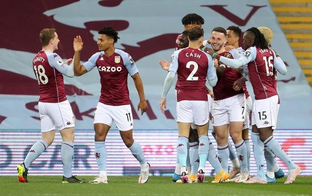 Hạ Aston Villa, Man City dập tắt hy vọng vô địch của Man Utd - 1