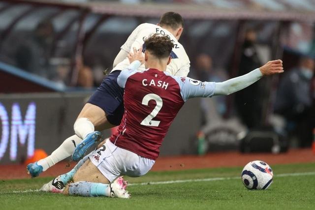 Hạ Aston Villa, Man City dập tắt hy vọng vô địch của Man Utd - 3