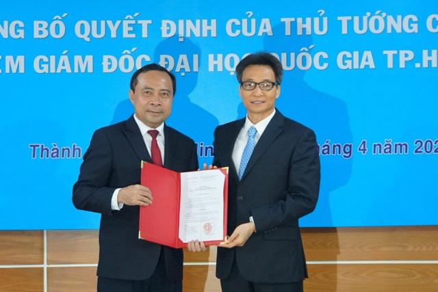 Phó Thủ tướng Vũ Đức Đam trao quyết định bổ nhiệm Giám đốc ĐHQG TP.HCM - 1
