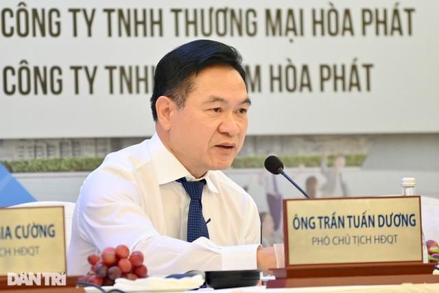 CEO Hòa Phát trả lời về thông tin mỗi lãnh đạo nhận thưởng 75 tỷ đồng - 4