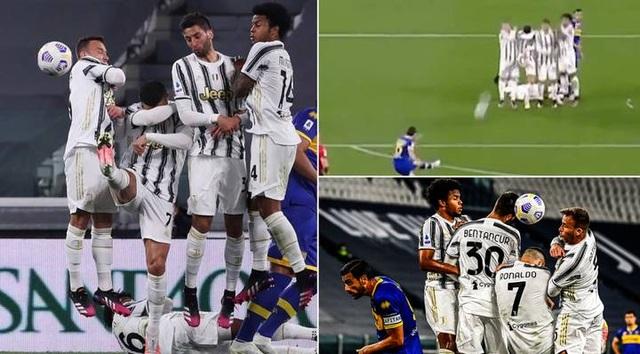 C.Ronaldo bị chỉ trích thậm tệ vì trò hề... dở khóc dở cười - 1