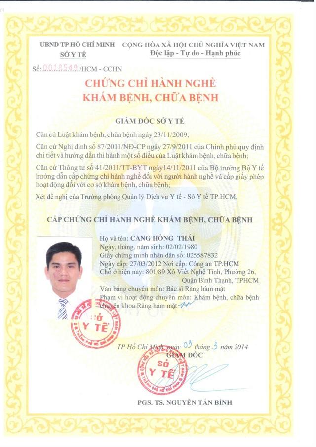 Nha khoa trồng răng SG - phòng khám răng hàm mặt được Sở Y tế cấp phép - 3