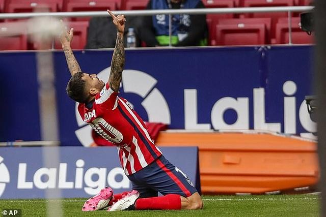 Atletico đòi lại ngôi đầu bảng La Liga từ tay Real Madrid - 2