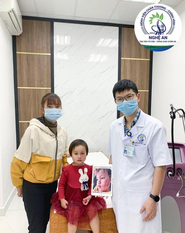 Hỗ trợ chi phí điều trị u máu, bớt máu cho trẻ có hoàn cảnh khó khăn - 2
