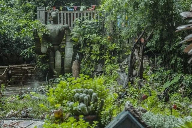 Vườn đẹp như cổ tích của con trai hiếu thảo dành tặng bố dưỡng già - 4