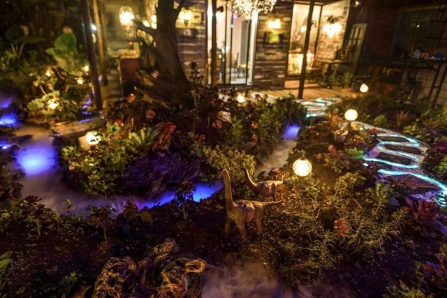 Vườn đẹp như cổ tích của con trai hiếu thảo dành tặng bố dưỡng già - 5