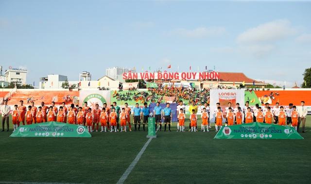 Anh Đức không thi đấu, CLB Long An vẫn thắng sốc CLB Bình Định - 1