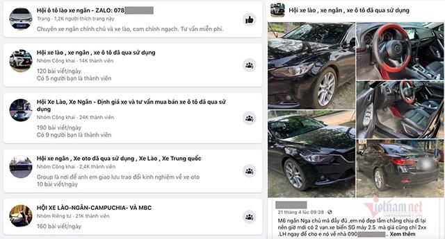 Xe Lào, xe Cam, xe ngân rao bán giá rẻ giật mình - 1